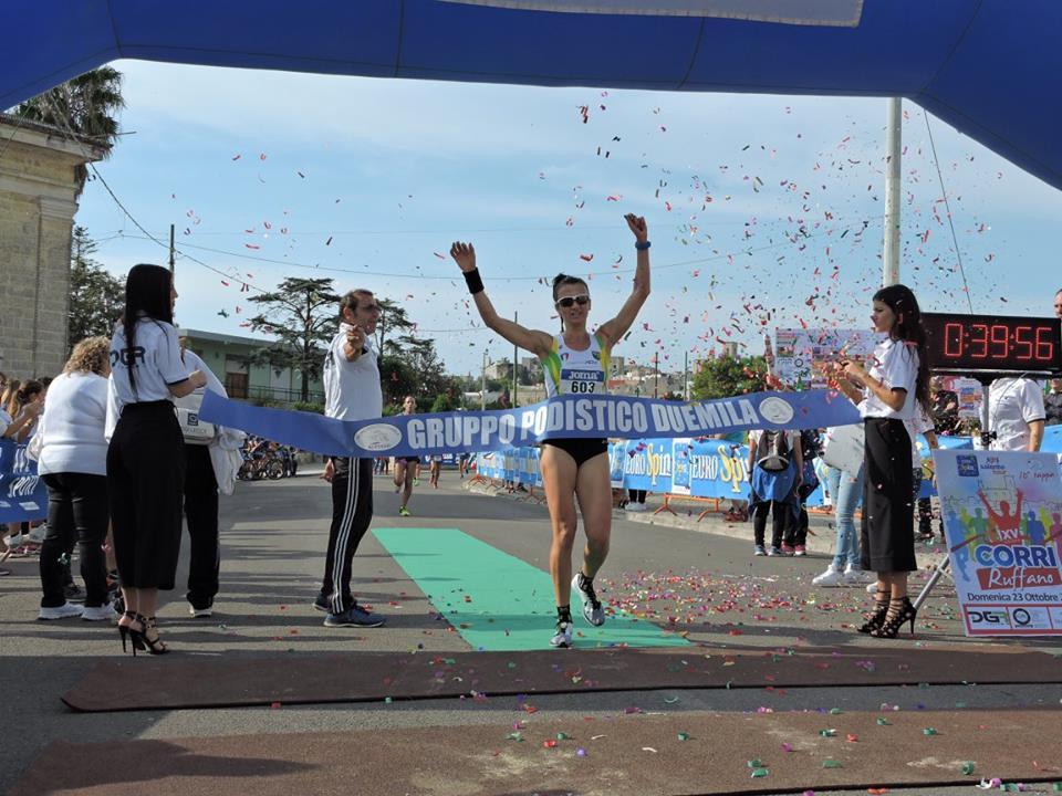 vincitrice XVcorriruffano