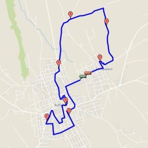 percorso camminata